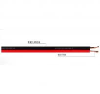 AVRB型300/300V铜芯聚氯乙烯绝缘扁型安装用软电线