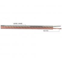 RVB 型系列扁型透明聚氯乙烯绝缘音响线