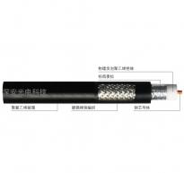 SYWV75-5系列物理发泡聚乙烯绝缘聚氯乙烯护套同轴电缆